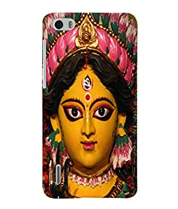 Fuson 3D Printed Lord Durga Designer Back Case Cover for Huawei Honor 6 - D508