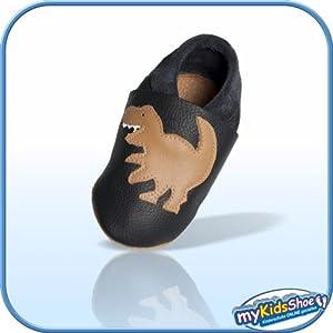 Bebé patucos de flexible cuero por myKidsShoe en BebeHogar.com