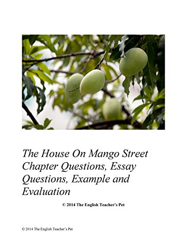 house on mango street questions Study questions instructions: as we read, answer the following questions in complete sentences on a separate sheet of paper the house on mango street.