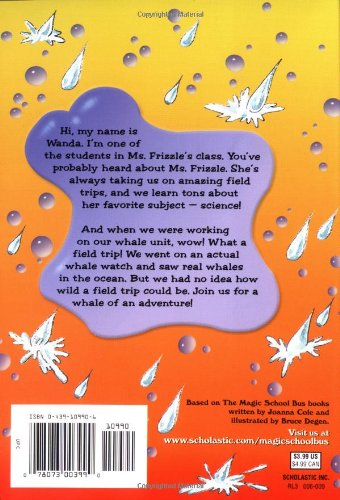 Wild Whale Watch (Magic School Bus Chapter Book)