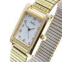 Mens Gold Expanding Bracelet Watch by Reflex (102300gx)