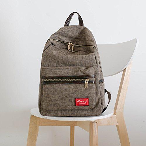 sac-en-toile-simple-lyceens-college-de-korean-air-sac-a-dos-sac-a-dos-loisirslight-brown