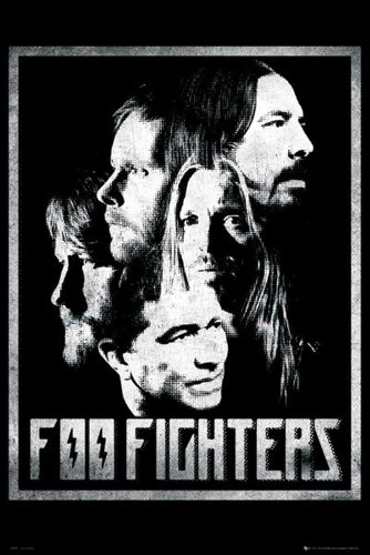 Foo Fighters Empire-Poster con motivo Foo Fighters multicolore