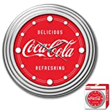Trademark Global Coca-Cola Delicious Design Clock, 12-Inch