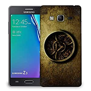 Snoogg watch mechaJNISm 2730 Designer Protective Back Case Cover For Samsung Galaxy Tizen T3