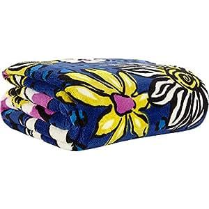 Vera Bradley Throw Blanket (African Violet)
