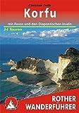 Korfu mit Paxos und den Diapontischen Inseln. 34 Touren (Rother Wanderführer)