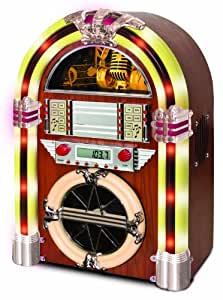 Juke Box with AM / FM, CD, MP3 and Flashing Lights