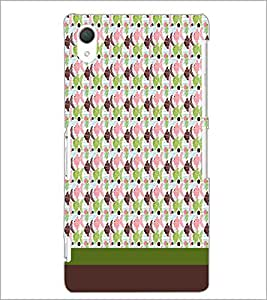 PrintDhaba Fish Pattern D-1847 Back Case Cover for SONY XPERIA Z2 (Multi-Coloured)
