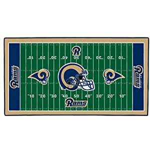 NFL St. Louis Rams 28 x 52-Inch Floor Mat by WinCraft