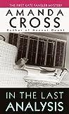 In the Last Analysis (Kate Fansler Novels)