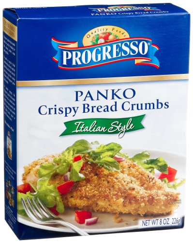 Progresso Italian Panko Style Breadcrumbs, 8-Ounce Canister (Pack of 12)