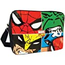 BB Designs Marvel Comics Marvel Face Off Multi Character Messenger Bag