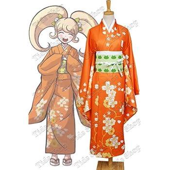 &#Super Danganronpa 2 Hiyoko Saionji Kimono Costume Tailor