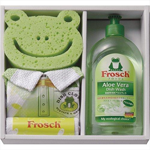フロッシュ キッチン洗剤ギフト FRS-015 【ドイツ アロエヴェラ アロエベラ 食器用 洗剤 液体洗剤 セット スポンジ】