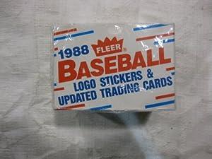 Fleer 1988 Baseball Logo Stickers & Updated Trading Cards