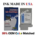 pfi-102 cyan compatible ink cartridge for Canon ipf 710 printer