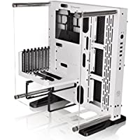 Thermaltake Core P3 Snow ATX Open Frame Gaming Computer Case Chassis with Riser Cable