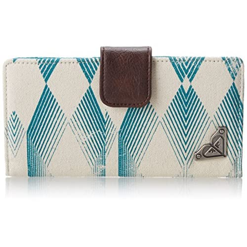Roxy Just Dance Bi-fold Bifold,Tile Blue,One Size
