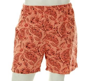 Tommy Bahama Mens Red Paisley Nylon Swim Trunks XX-Large / 2XL / 2X Euro 56 Swimsuit Shorts