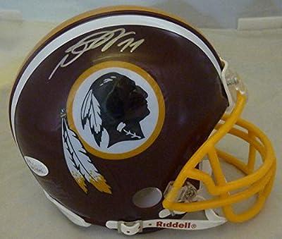 Desean Jackson Autographed Washington Redskins mini helmet JSA
