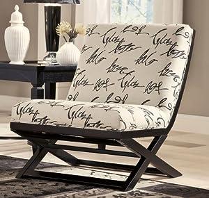 Amazon.com: Signature Design by Ashley Levon Accent Chair ...
