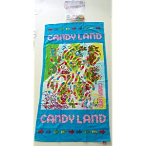 Candy Land games: beach towel!