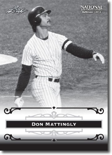 2012 Leaf Hof Baltimore National Sports Collector Promo #Dm1 Don Mattingly - New York Yankees (Mlb Legend)(Collectible Trading Card)