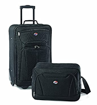 American Tourister Luggage Fieldbrook II 2 Piece Set, Black, One Size