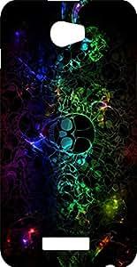 BKDT Marketing Printed Back Cover for Karbonn Aura