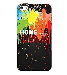 PrintDhaba Quote D-3451 Back Case Cover for APPLE IPHONE 4S (Multi-Coloured)