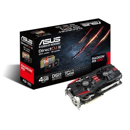 Asus R9 290 DirectCU II