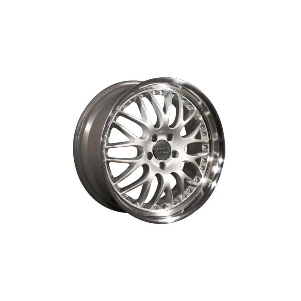 Audi A4 19 Inch BBS Dish Silver Wheels Rims 1996 1997 1998 1999 2000 2001 2002 2003 2004 2005 2006 96 97 98 99 00 01 02 03 04 05 06