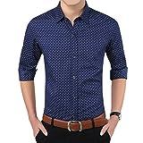 #10: Romano Men's Full Sleeve Casual Blue Shirt