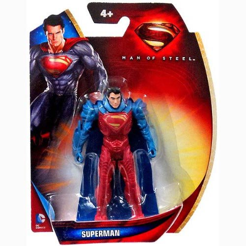 Superman Man of Steel Armor Suit Superman 3.75 inch Action Figure - 1
