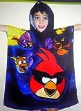 アングリーバードスペース(Angry Birds Space)フード付きバスタオル:アングリーバードオフィシャルグッズ