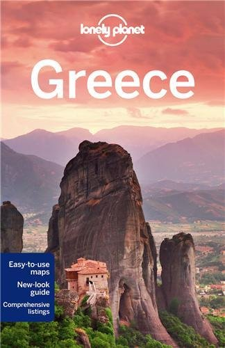 Lonely Planet Greece (Travel Guide) front-965203