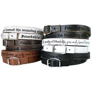 AREA17® Lederarmband mit Gravur Wickelarmband 50 cm mit SCHNALLE Farbauswahl Armband mit Wunschtext graviert