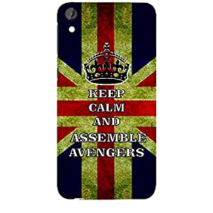 Skin4gadgets Keep Calm and ASSEMBLE AVENGERS -Colour - UK Flag Phone Skin for HTC DESIRE 820