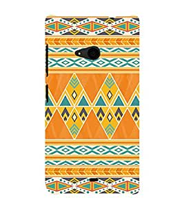 Abstract Painting 3D Hard Polycarbonate Designer Back Case Cover for Nokia Lumia 535 :: Microsoft Lumia 535