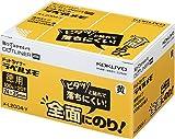 コクヨS&T 粘着メモ<ドットライナー ラベルメモ>(お徳用) 74×25mm 100枚×20個入り 黄色 メ-L2004-Y