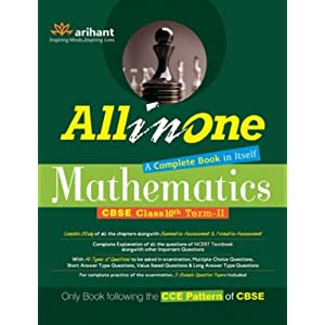 All in One Mathematics CBSE Class 10th - Term II