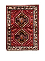 Navaei & Co. Alfombra Persian Shiraz Rojo/Multicolor 147 x 104 cm