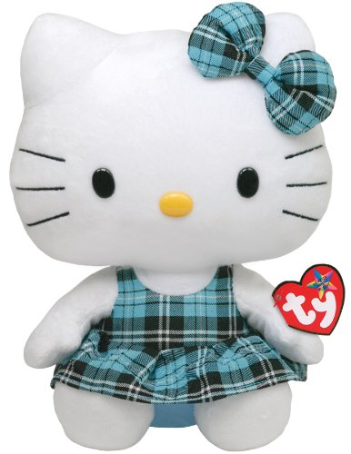 Peluche grande Hello Kitty - Beanie Buddy de 32 cm