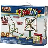 Ideal 104-Piece Fiddlestix Classic Wood Connector Set