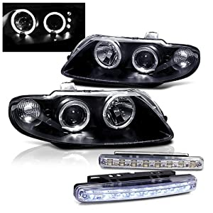 2004 2006 pontiac gto dual halo head lights. Black Bedroom Furniture Sets. Home Design Ideas