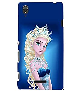 SONY XPERIA T3 PRINCES Back Cover by PRINTSWAG