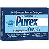 Ultra Purex Dry Detergent with Crystals Fragrance, 1.4 oz. Vend Pack (Pack of 156)