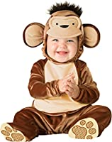 InCharacter Baby Mischievous Monkey Costume