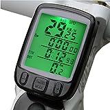 KingMas Multifunctional Waterproof Wireless Bike Bicycle Computer Odometer Speedometer LCD Backlight
